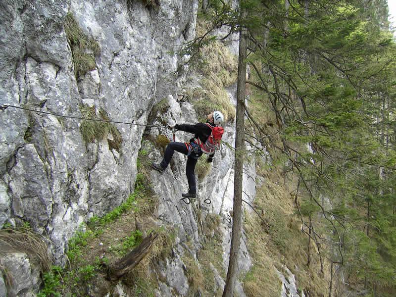 Klettersteig Johnsbach : Neuss